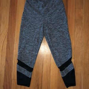Aeropostale cropped leggings with mesh bottom!